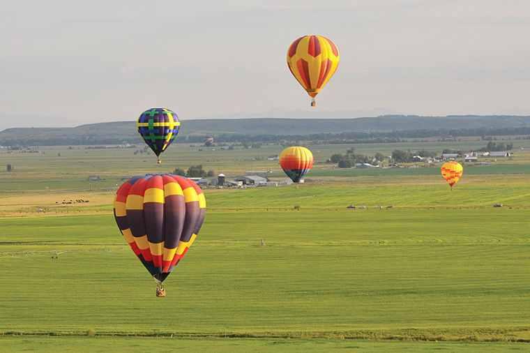 Balloon Races  Driggs, Idaho