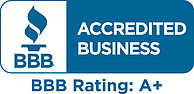 Accredited BBB business with A+ rating