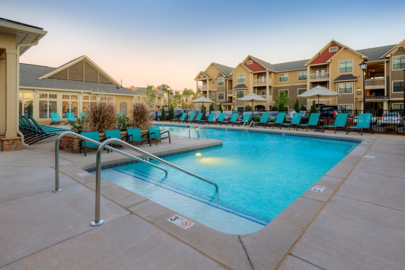 Ansley Falls Apartments - Charlotte, NC - 274 units - managed since 2009