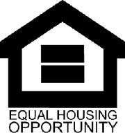 We are an equal housing opportunity company